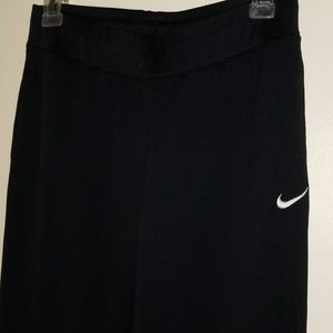 Nike Fit Dry Warm Up Pants w/ Snap Ankle